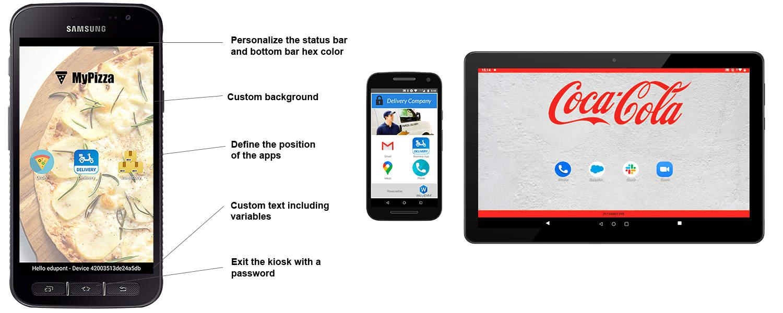 Android Kiosk App - Kiosk lockdown