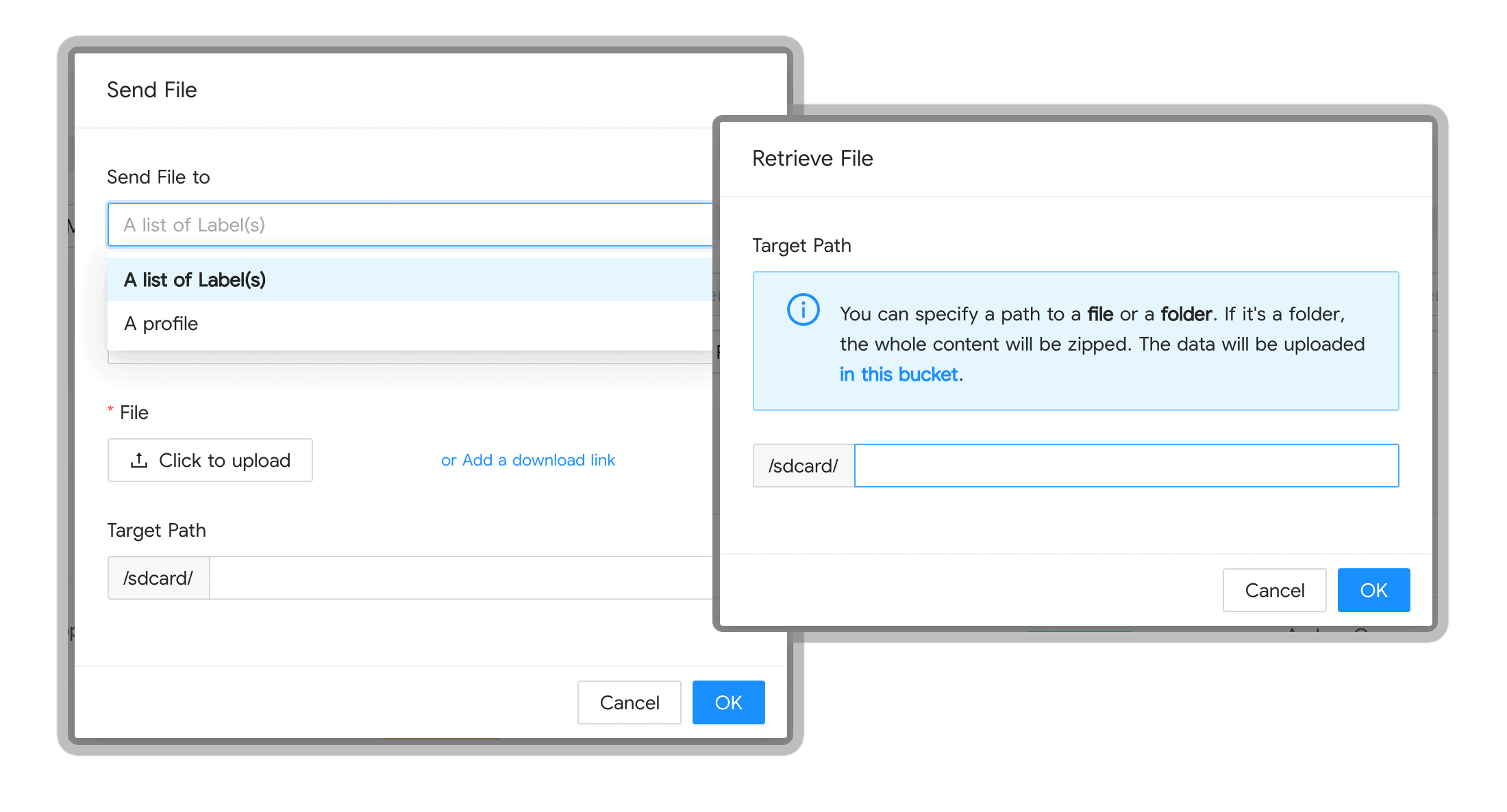 Gestion de contenu : poussez vos fichiers sur vos appareils Android